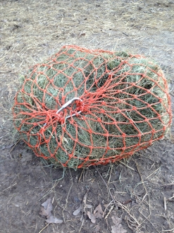 "Original 35"" Slow Feed Hay Net with Top Net Safety Bolt"