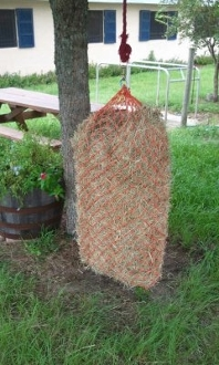 Bale Bag w/Snap Hook to Hang High